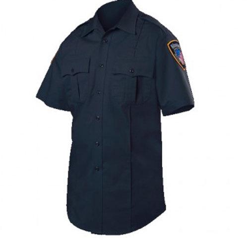 Blauer Short Sleeve Cotton Blend Shirt