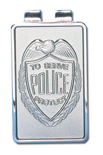 Police Money Clip