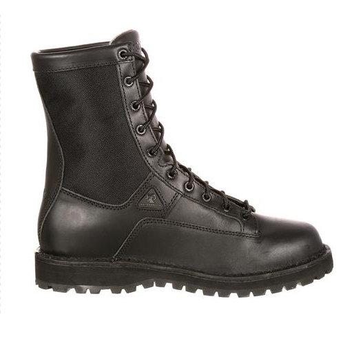 Rocky Portland Lace-to-Toe Waterproof Duty Boots