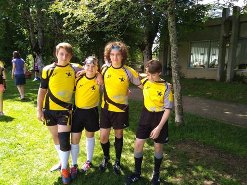 4 ragazzi del Rugby Lugano U14 conquistano la finale nazionale con la selezione NRSV