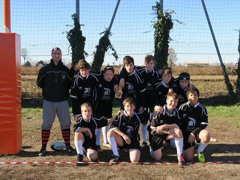 4. posto al torneo a 7 UISP di Belcreda per i ragazzi della U14