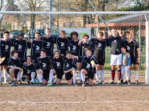 23 ragazzi in campo e la prima squadra a XV vittoriosa