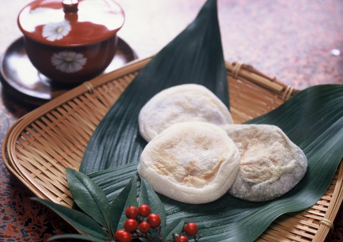 Yaki-mochi(Baked rice cake)