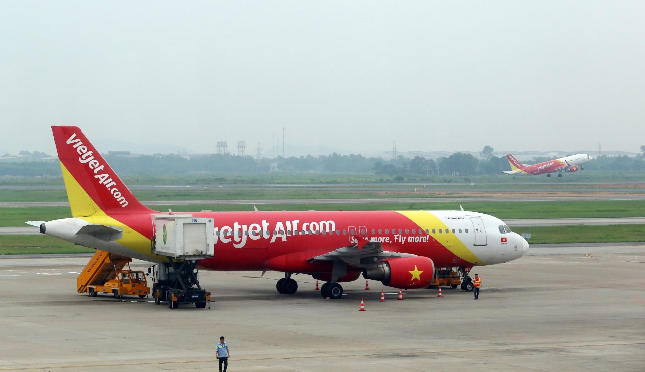 Vietjet's aircraft
