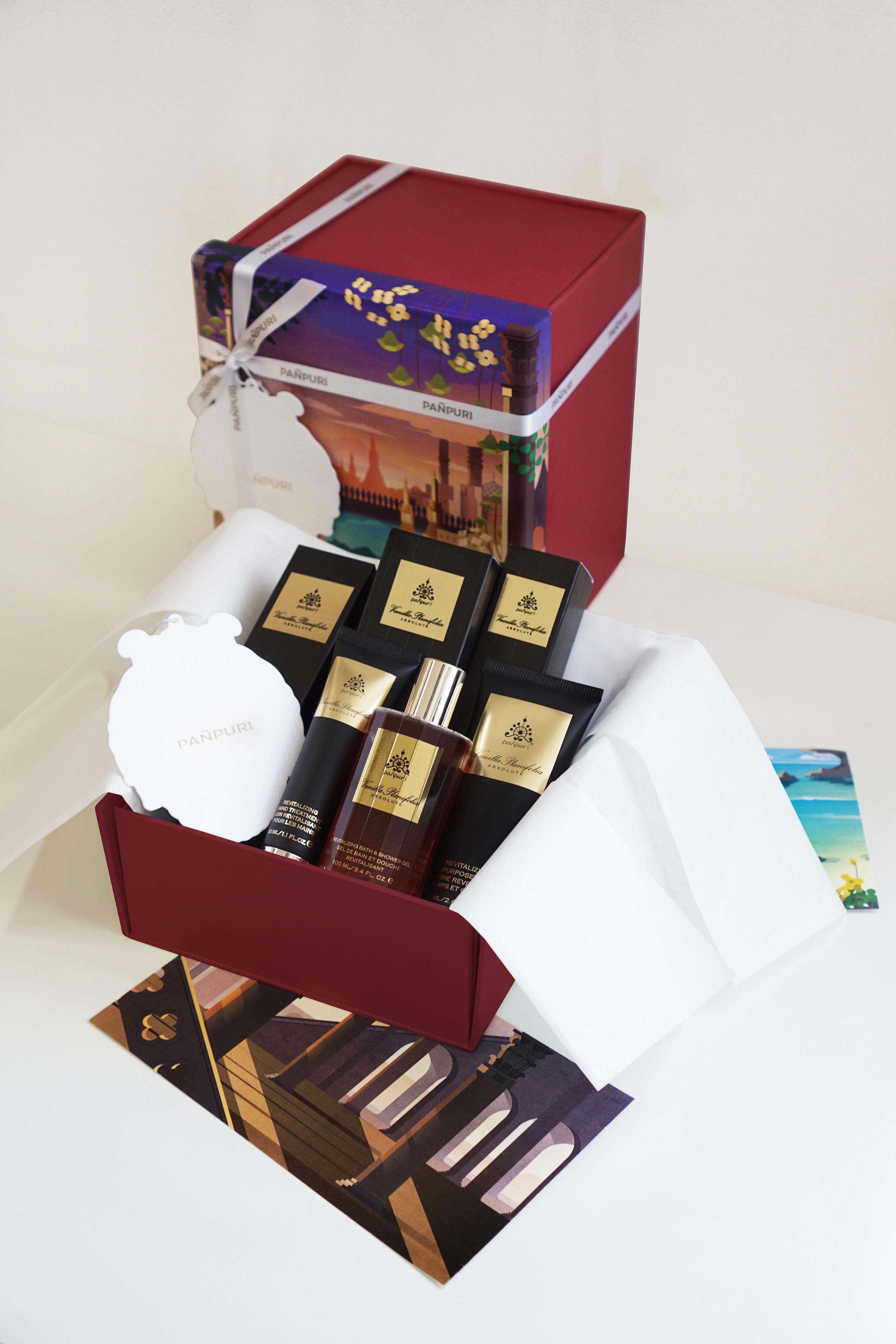 PANPURI - Mini Vanilla Planifolia Skin Revitalizer Set