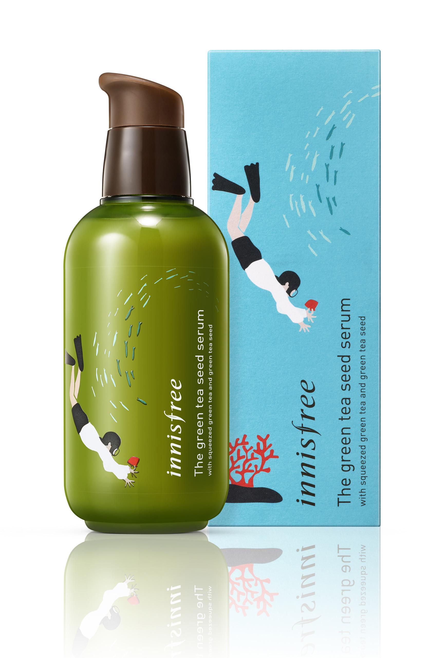 The green tea seed serum (Limited edition Eca-Hankie campaign)