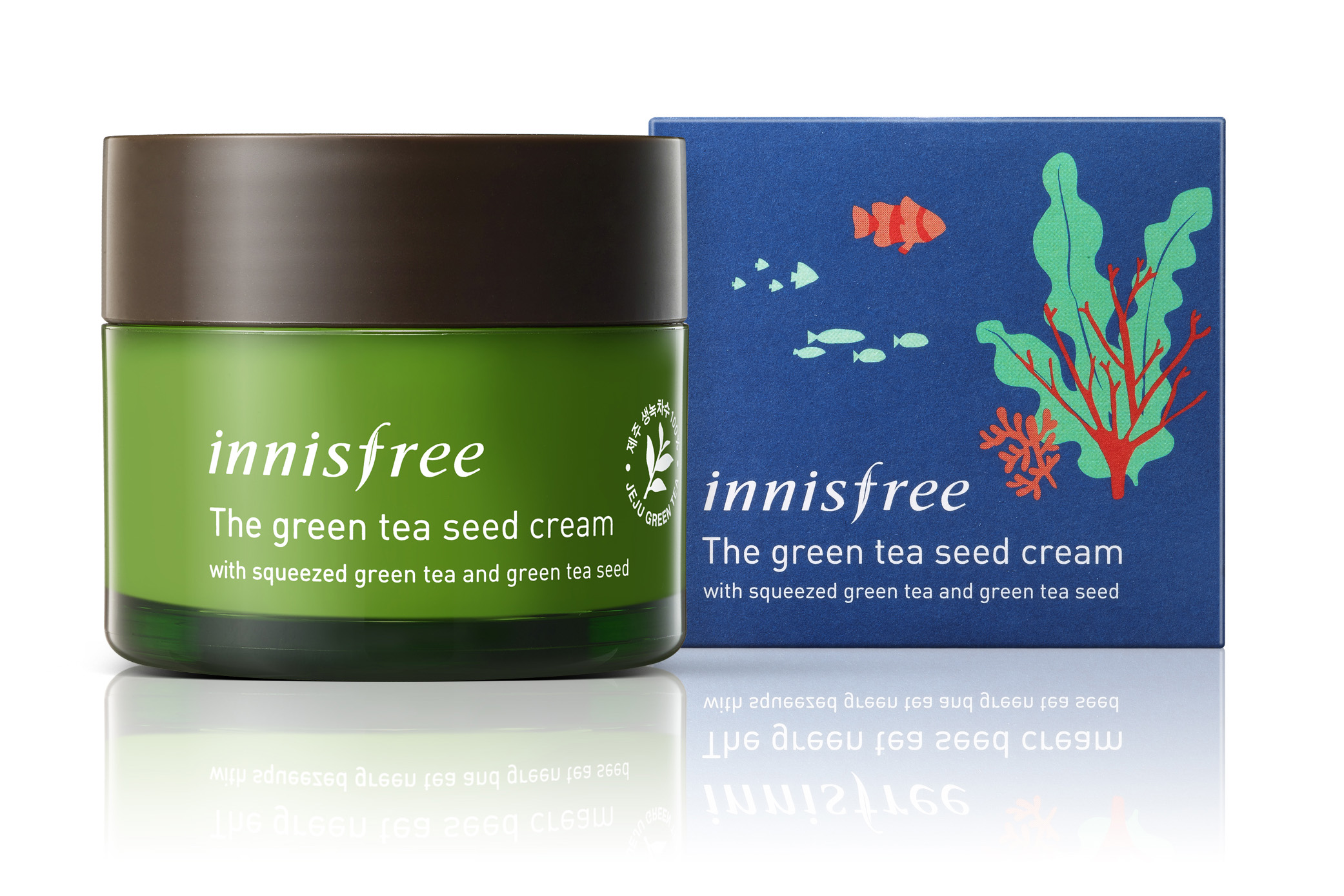 The green tea seed cream (Limited edition Eca-Hankie campaign)