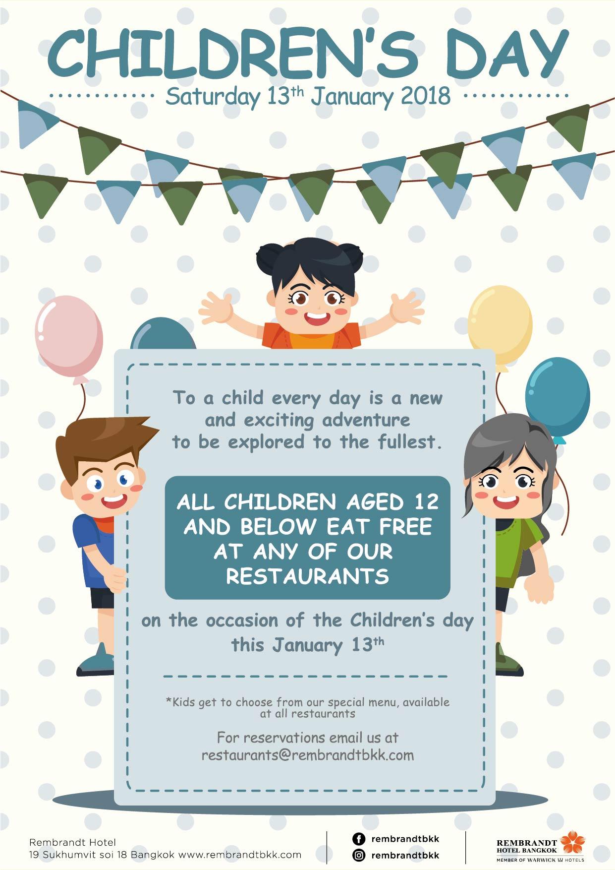 Children's day A4-01