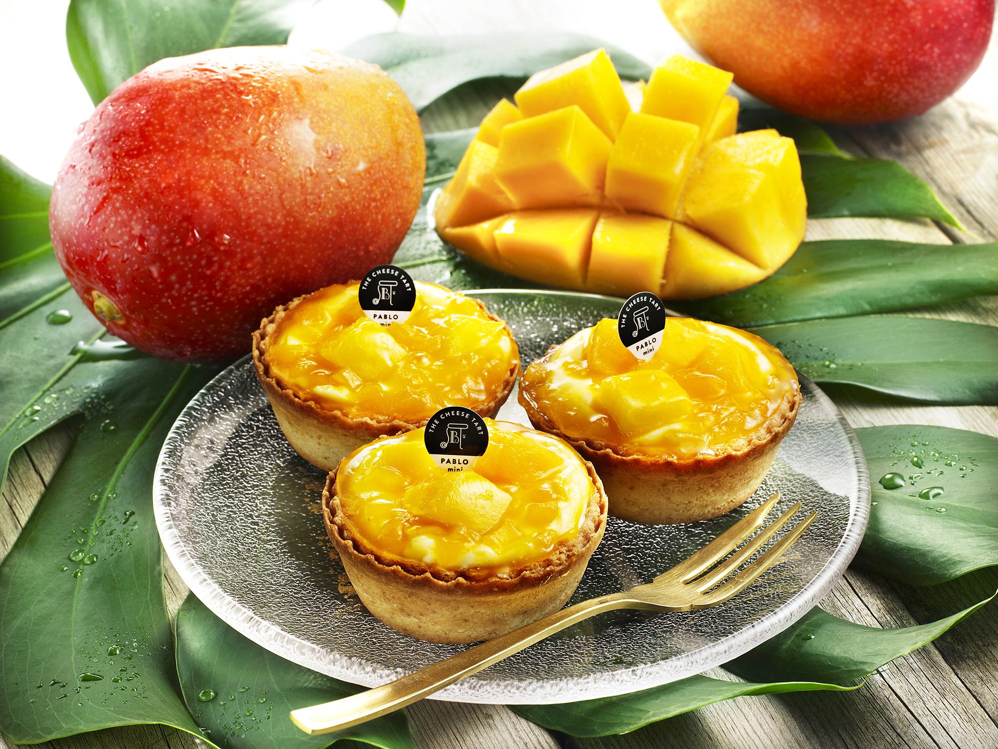 PABLO_Mini Mango Cheese Tart