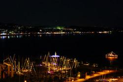 Enoshima night view