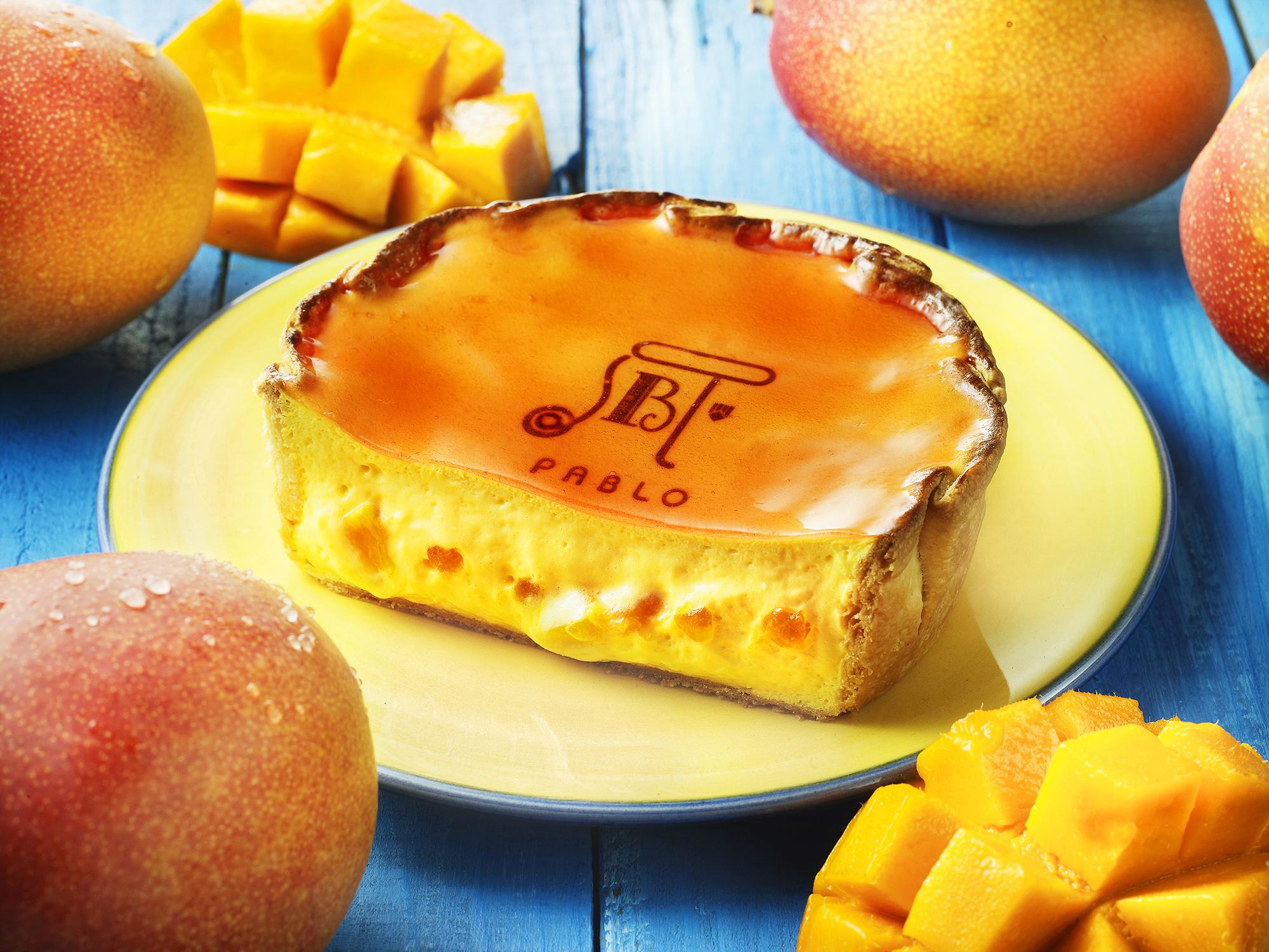 PABLO_Mango Freshly Baked Cheese Tart