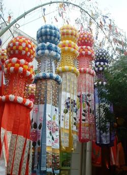 The Sendai Tanabata Festival in 2005