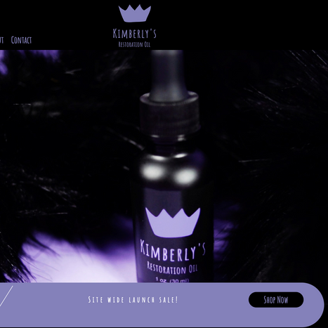 Kimberly's Restoration Hair Oil