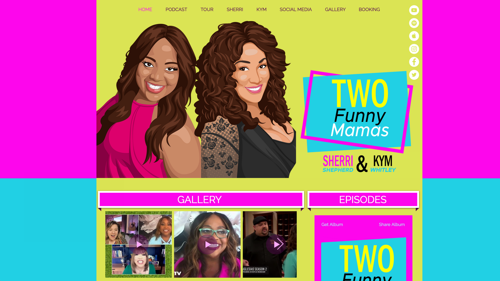 Two Funny Mamas Podcast