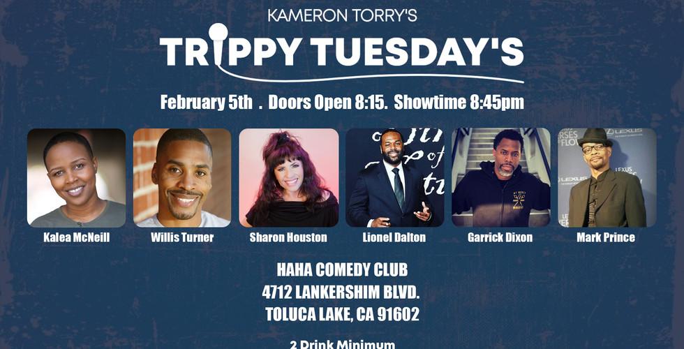 Trippy Tuesdays (Live Comedy Show)