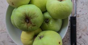 Summer Apple Crumble