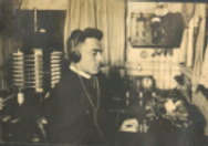 Marconi radioman c. 1918
