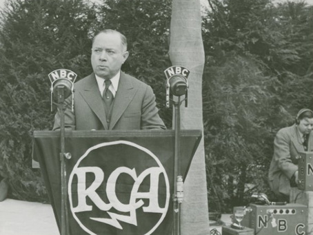 David Sarnoff; A rags to riches story