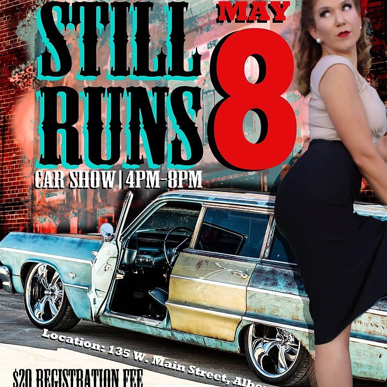 Still Runs Car Show and Pinup Contest