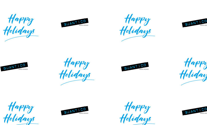 Logo Wrapping Paper - Happy Holidays