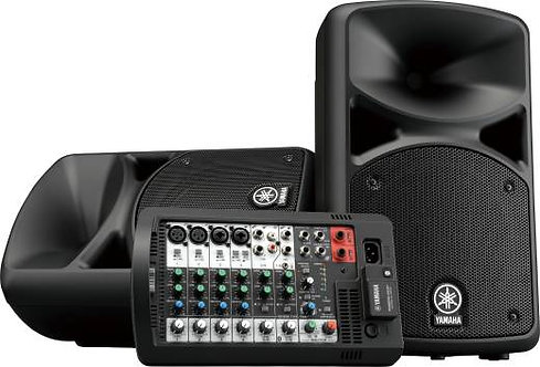 Yamaha Stagepass 400BT Portable PA System w/ Bluetooth
