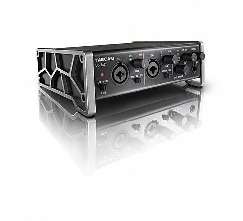 TASCAM US-2X2 USB AUDIO/MIDI INTERFACE