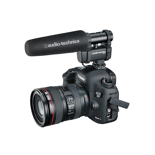 AUDIO TECHNICA AT8024 CAMERA-MOUNT MICROPHONE