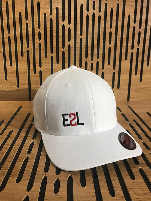 E2L Flex Fit Full Back - White
