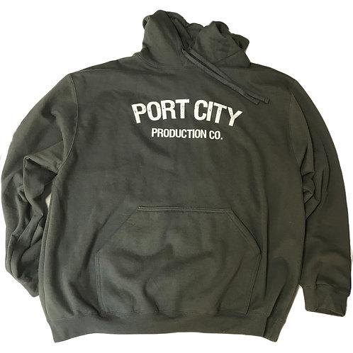 Port City Hoodie - Grey