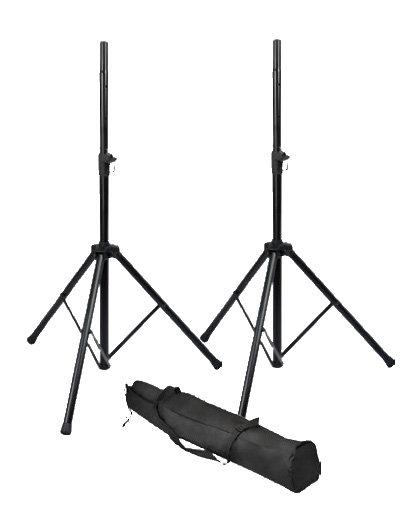 GATOR ROK-IT SPEAKER STAND SET W/ BAG