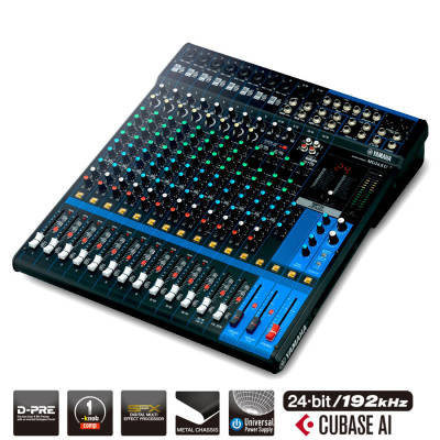 MG16XU - 16 Channel MG Series Mixer w/Effects