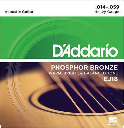 D'Addario Phosphor Bronze EJ18