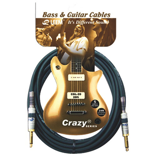 Leem 20ft Guitar Cable - CGS-20