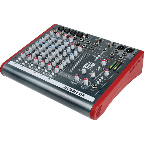 ALLEN & HEATH ZED-10 MIXER - 4 MONO / 2 STEREO WITH USB
