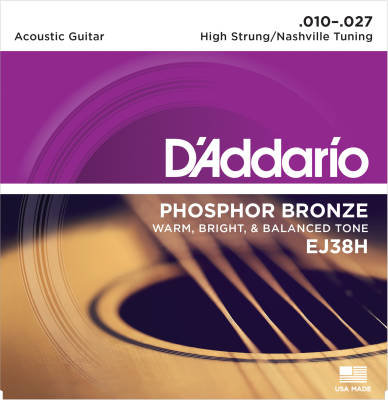 D'Addario Phosphor Bronze EJ38H