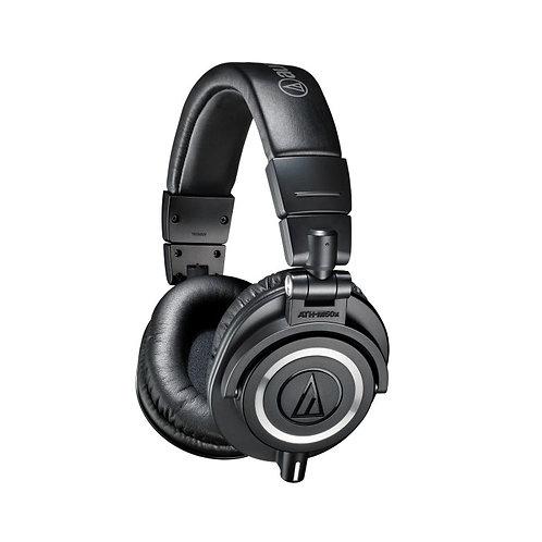 AUDIO-TECHNICA ATH-M50X CLOSED-BACK STUDIO HEADPHONES - BLACK