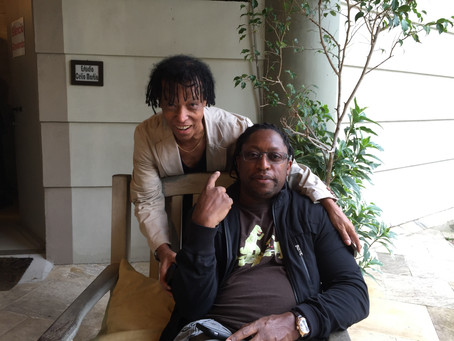 Teo Lima and Darryl Jones were a historic collaboration