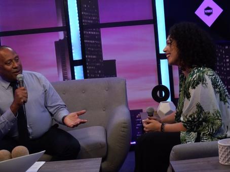 Frank Ski interviews Alexandra Jackson on V-103
