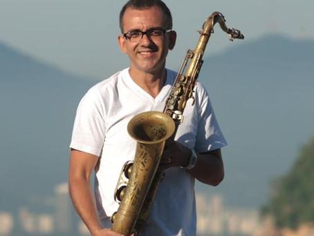 Orquestra Atlantica leader, Marcelo Martins worked on the recording of Brazilica