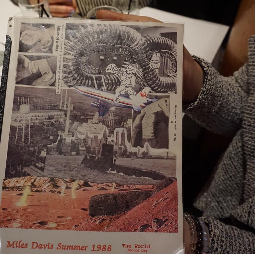 Miles Davis' Official Tour Log