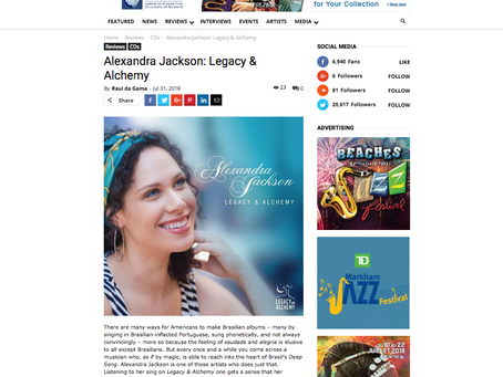 World Music Report reviews the album!