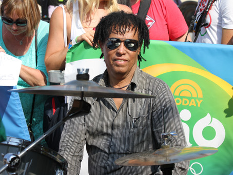 """Super Drummer Teo Lima is on """"Corcovado"""""""
