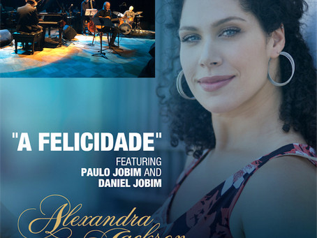 "ALEXANDRA JACKSON releases the video of ""A Felicidade"""