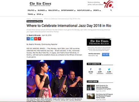 """We are in the """"Rio Times"""""""