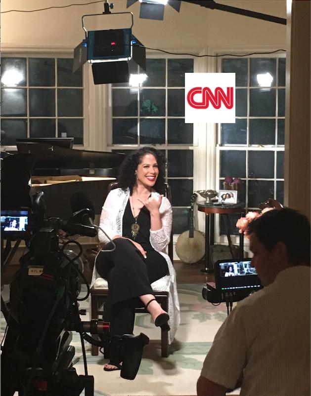 Alexandra Jackson on CNN
