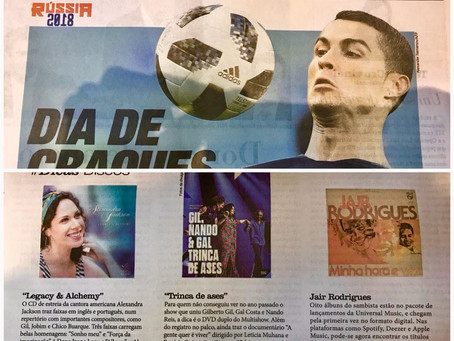 We are in the Jornal Do Brasil