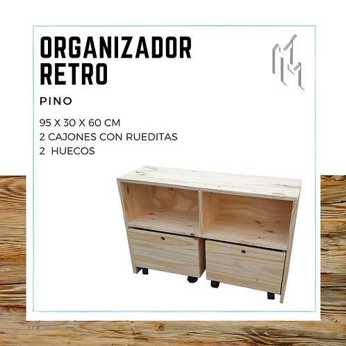 OrganizadorRetro Juvenil 95x30x60