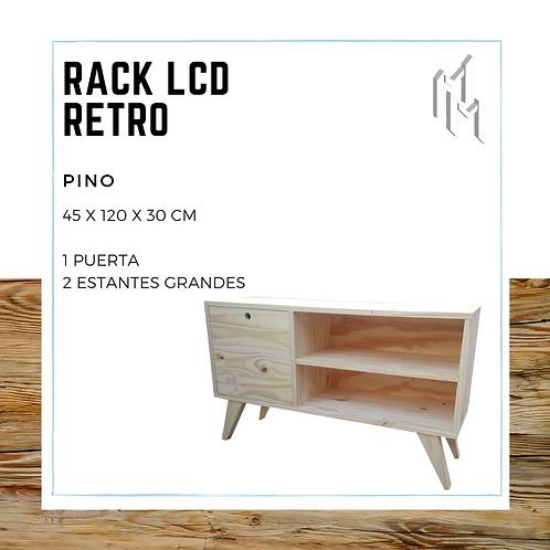 Rack LCD 120cm con Puerta y 2 Huecos