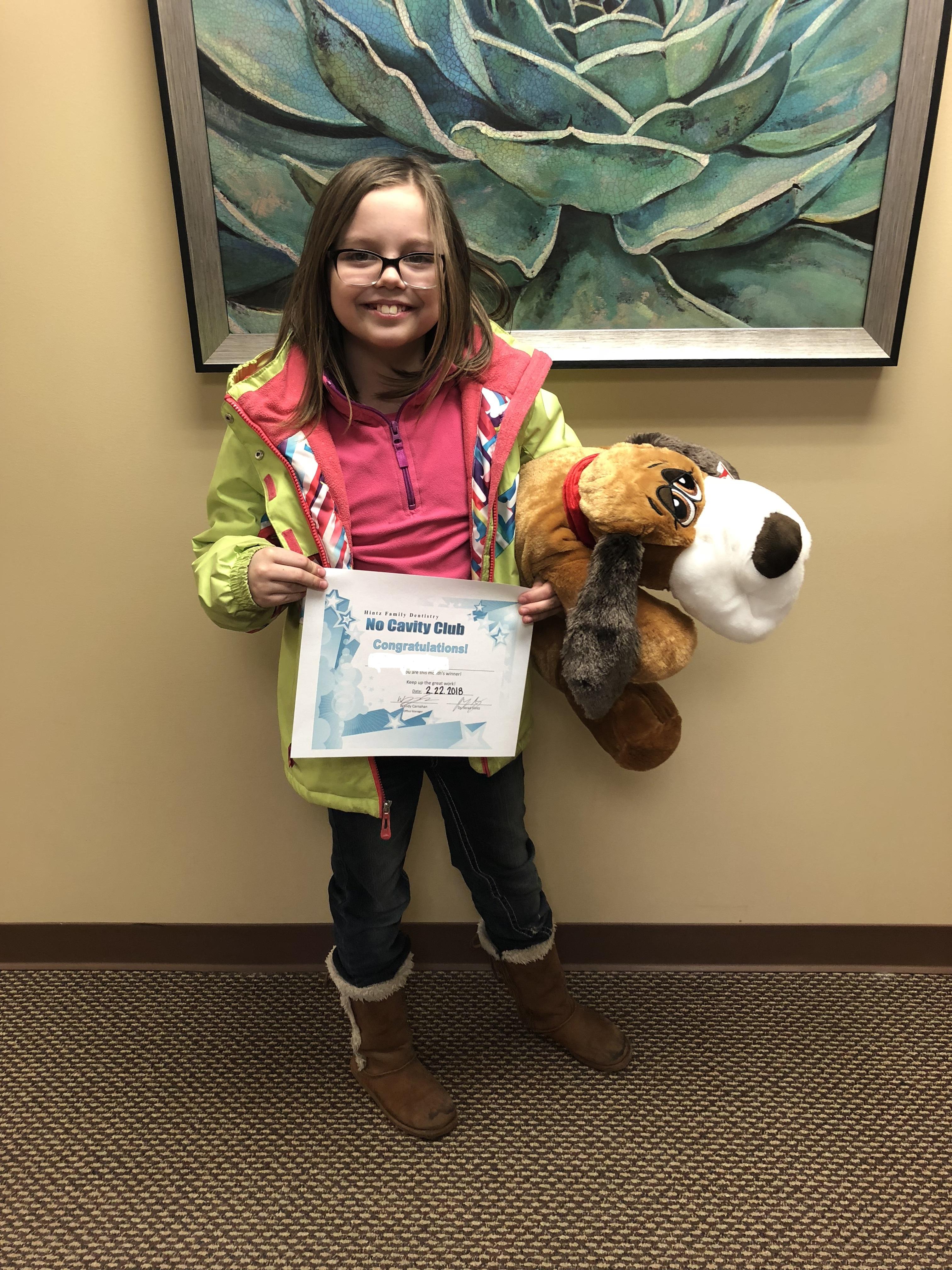 Des Moines's January 2018 winner