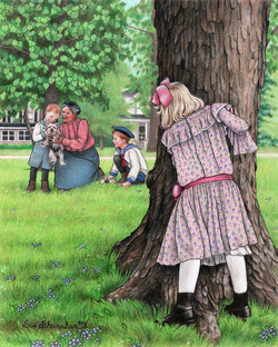 Lilly Spies Sophronia - Book Illus.